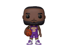 "Pop! NBA: LA Lakers - 10"" Super Sized LeBron James (Purple Jersey)"