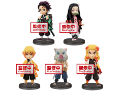 Demon Slayer: Kimetsu No Yaiba World Collectable Figure Box of 6 Figures