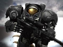 Starcraft II D-Stage DS-069 Jim Raynor Statue