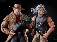 X-Men 20th Anniversary Marvel Legends Old Man Logan & Hawkeye