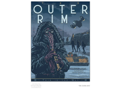 Star Wars The Outer Rim Limited Edition SDCC 2020 Exclusive Giclee