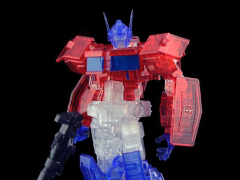 Transformers Furai Optimus Prime (IDW Clear Ver.) SDCC 2020  Exclusive Model Kit