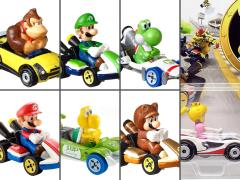 Mario Kart Hot Wheels Wave 2 Set of 7 Cars