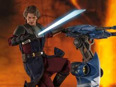 Star Wars: The Clone Wars TMS020 Anakin Skywalker and STAP 1/6 Scale Figure