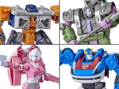 Transformers War for Cybertron: Earthrise Deluxe Wave 2 Set of 4 Figures