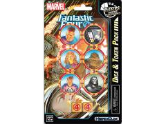 Marvel HeroClix Fantastic Four Dice & Token Pack