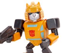 """Transformers G1 MetalFigs Bumblebee 4"""" Deluxe Figure"""