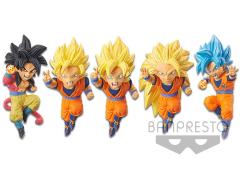 Dragon Ball Z: Dokkan Battle World Collectable Figure 5th Anniversary Set of 5 Figures