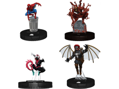 Marvel HeroClix: Spider-Man and Venom Absolute Carnage Booster Pack of 5 Figures