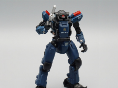 Stellar Knights AGS-03 Police Captain S.A.S. EW-53 (Blue & Black Color) 1/60 Scale Figure