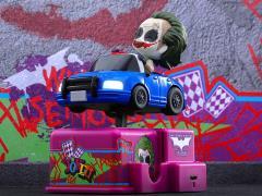 The Dark Knight CosRider The Joker & Police Car Set