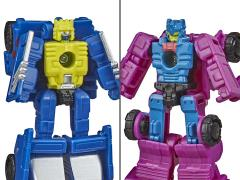 Transformers War for Cybertron: Earthrise Micromaster Roller Force & Ground Hog Two-Pack