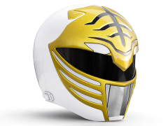 Mighty Morphin Power Rangers Lightning Collection White Ranger 1:1 Scale Wearable Helmet