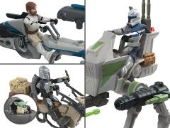 Star Wars Mission Fleet Expedition Class Set of 3 Vehicles with Figures