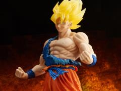 Dragon Ball Z Gigantic Series Super Saiyan Goku (Battle Damage Ver.) SDCC 2016 Exclusive