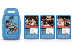 Friends Top Trumps Card Game