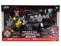 "Transformers G1 MetalFigs 2.75"" Figure Diorama Set"