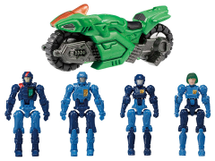 Diaclone Reboot DA-63 Diaclone Mobile Base Nauts Exclusive Set
