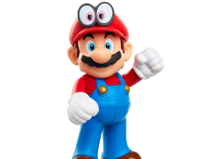 "World of Nintendo 2.50"" Cappy Mario (Standing) Limited Articulation Figure"