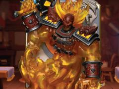 Hearthstone D-Stage DS-071 Ragnaros the Firelord Statue