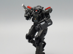 Stellar Knights AGS-04 Police Captain S.A.S. EW-53 (Black Color) 1/60 Scale Figure
