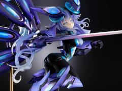 Megadimension Neptunia VII Next Purple 1/7 Scale Figure Processor (Unit Full Ver.) Reissue