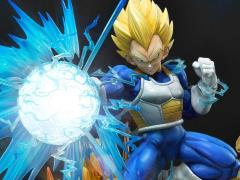 Dragon Ball Z Mega Premium Masterline Super Saiyan Vegeta (Deluxe Ver.) 1/4 Scale Statue (With Bonus)