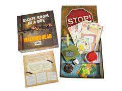 The Walking Dead Escape Room in a Box Game