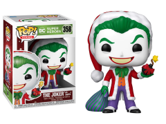 Pop! Heroes: DC Holiday - The Joker as Santa