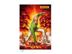 Stan Lee Excelsior! Art Print