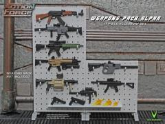 Action Force Weapons Gear Pack (Alpha) Accessory Set