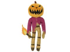"The Nightmare Before Christmas Phunny Jack Skellington ""Pumpkin King"" Plush"