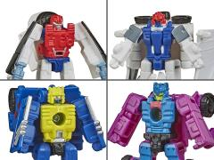 Transformers War for Cybertron: Earthrise Micromaster Wave 2 Set of Two-Packs
