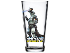 Mechagodzilla Toon Tumbler Pint Glass
