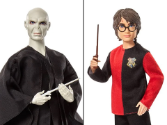 Harry Potter and the Goblet of Fire Harry Potter & Lord Voldemort Doll Two-Pack