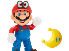 "World of Nintendo 4"" Cappy Mario (Power Moon) Figure"