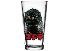 Godzilla Head Toon Tumbler Pint Glass