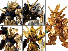 Gundam FW Converge Gold Edition Box of 8 Figures