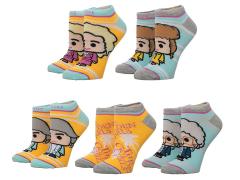 The Golden Girls Ankle Socks Five-Pack
