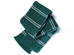 Harry Potter Slytherin Scarf Knitting Kit