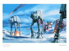 Star Wars Hoth Battle Limited Edition SDCC 2020 Exclusive Giclee