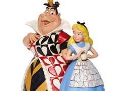 Alice in Wonderland Disney Traditions Alice and Queen of Hearts Figurine (Jim Shore)