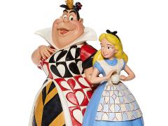 Alice in Wonderland Disney Traditions Alice and Queen of Hearts Figurine (Jim Shore)