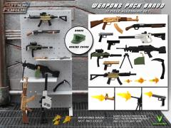 Action Force Weapons Gear Pack (Bravo 1) Accessory Set