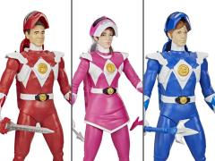 Mighty Morphin Power Rangers Morphin Hero Set of 3 Figures