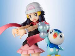 Pokemon ArtFX J Dawn with Piplup Statue