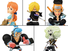 One Piece World Collectable Figure Wano Country Style 2 Set of 5 Figures
