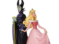 Sleeping Beauty Disney Traditions Princess Aurora and Maleficent Figurine (Jim Shore)