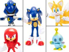 "Sonic the Hedgehog 2.5"" Figures Wave 1 Set of 5 Figures"