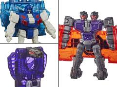 Transformers War for Cybertron: Earthrise Battle Masters Wave 3 Set of 3 Figures